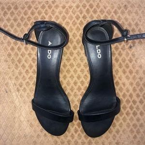Aldo Ankle Strap Heeled Sandal